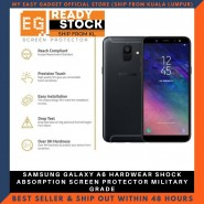 SAMSUNG GALAXY A6 HARDWEAR SHOCK ABSORPTION SCREEN PROTECTOR MILITARY GRADE
