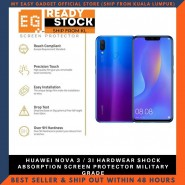 HUAWEI NOVA 3 / 3I HARDWEAR SHOCK ABSORPTION SCREEN PROTECTOR MILITARY GRADE