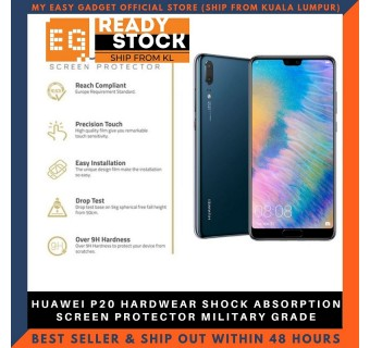HUAWEI P20 HARDWEAR SHOCK ABSORPTION SCREEN PROTECTOR MILITARY GRADE