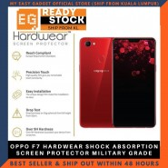 OPPO F7 HARDWEAR SHOCK ABSORPTION SCREEN PROTECTOR MILITARY GRADE