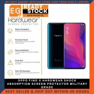 OPPO FIND X HARDWEAR SHOCK ABSORPTION SCREEN PROTECTOR MILITARY GRADE