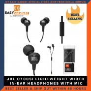 [100%Original] JBL C100SI In-Ear Headphones with Mic [CLEARANCE]