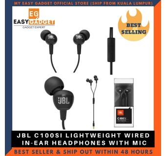 [100%Original] JBL C100SI In-Ear Headphones with Mic [CLEARANCE]