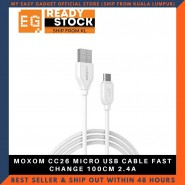MOXOM CC26 MICRO USB CABLE FAST CHANGE 100CM 2.4A