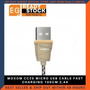 MOXOM CC25 MICRO USB CABLE FAST CHARGING 100CM 2,4A