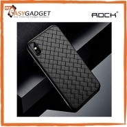 ROCK IPHONE XS MAX BV SERIES WOVEN PATTERN HEAT DISSIPATION PROTECTIVE CASE