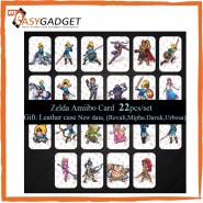 22 PCS ZELDA AMIIBO NFC TAG CARDS FOR NINTENDO SWITCH / WII U [KL SELLER]