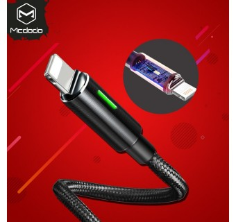 MCDODO CA-4600 1.2 METER 2.4A 2ND GEN AUTO DISCONNECT LIGHTNING DATA CABLE FOR IPHONE [KL SELLER]