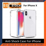 IPHONE X / XS / XR / XS MAX Anti Shock Drop Proof Transparent Protection Cover Clear Case