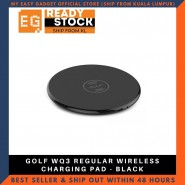 GOLF WQ3 REGULAR WIRELESS CHARGING PAD - BLACK