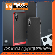 ROCK IPHONE XS / XR / XS MAX ROYCE SERIES ULTRA SLIM HYBRID SHOCKPROOF PROTECTIVE CASE COVER