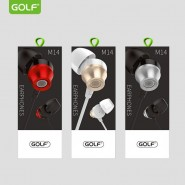 GOLF M14 SUPER HEAVY BASS IN-EAR WIRED EARPHONE