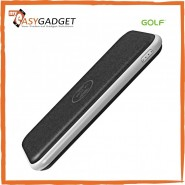 GOLF W2 WIRELESS ULTRA SLIM MICRO &LIGHTNING INPUT 8000MAH POWER BANK - BLACK