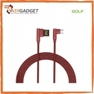 GOLF GC-48M MICRO USB FAST CHARGING L SHAPE CABLE 100CM 2.4A