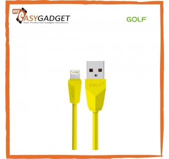GOLF GC-27I LIGHTNING REGULAR CHARGING CABLE 100CM 2.1A