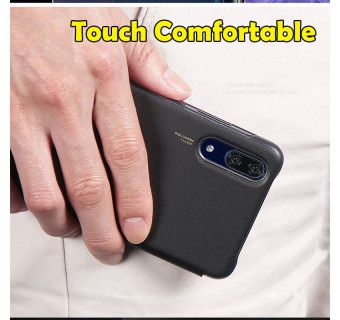 HUAWEI P20 PRO CASE ORIGINAL PU LUXURY LEATHER FLIP COVER FULL PROTECTION SMART WINDOW VIEW PHONE CASING [CLEARANCE] (FREE TEMPERED GLASS)