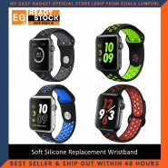 Soft Silicone Replacement Wristband for iWatch Apple Watch Series 1 2 3 4 5