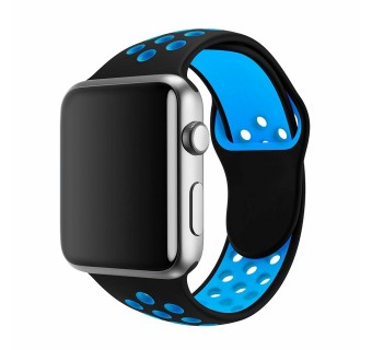 38MM / 40MM, 42MM / 44MM 1:1 SIZE STRAP SILICON SPORTS WATCH BAND STRAP FOR APPLE WATCH 1 2 3 4