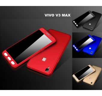 VIVO V3 MAX 360 FULL BODY PROTECTION CASE + TEMPERED GLASS