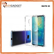 HUAWEI MATE 20, MATE 20 PRO ANTI SHOCK DROP PROOF TRANSPARENT PROTECTION COVER CLEAR CASE