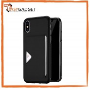 IPHONE X / XS / XS MAX DUX DUCIS POCARD LEATHER CASE TPU CARD HOLDER BACK COVER