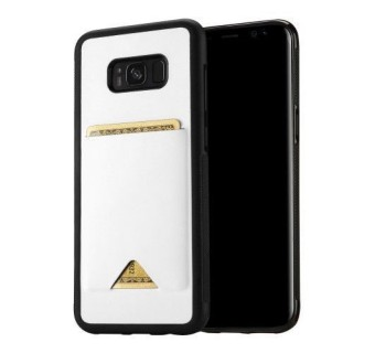SAMSUNG S8 / S8 PLUS DUX DUCIS POCARD LEATHER CASE TPU CARD HOLDER BACK COVER