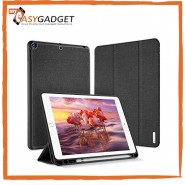 NEW IPAD 9.7 6TH 2018 / 5TH 2017 DUX DUCIS DOMO SMART COVER - With Apple Pencil Holder & Auto Sleep Wake