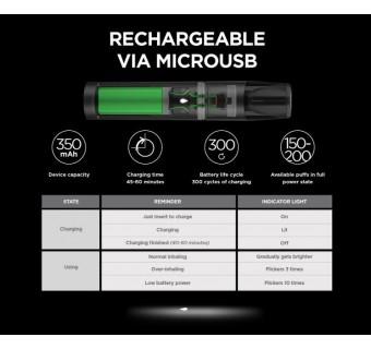 RELX VAPE E-CIGARETTE STARTER KIT ORIGINAL SET READY STOCK - FREE 2 RELX POD