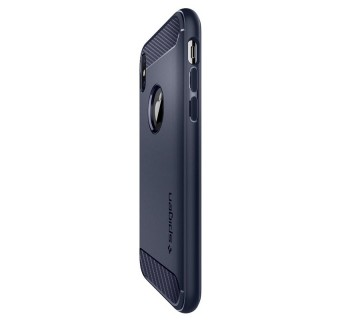 SPIGEN RUGGED ARMOR IPHONE X CASE COVER CASING - MIDNIGHT BLUE [CLEARANCE]
