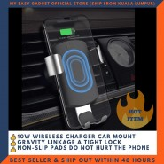 MCDODO CH-5181 CAR HOLDER QI FAST WIRELESS CHARGER 5/7.5/10W METAL HOUSING