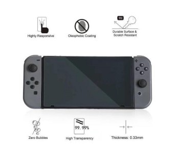 OIVO LCD Protective Film 9H HD Tempered Glass For Nintendo Switch