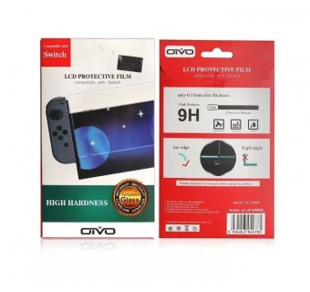 OTVO LCD PROTECTIVE FILM TEMPERED GLASS FOR NINTENDO SWITCH
