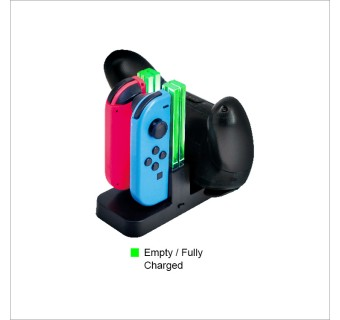 DOBE CHARGING DOCK FOR NINTENDO SWITCH JOY-CON AND PRO CONTROLLER TNS-879