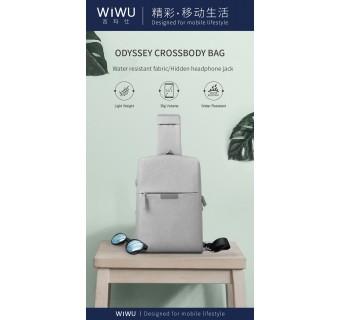 WIWU ODYSSEY CROSSBODY BAG WATERPROOF NYLON BAGS SINGLE SHOULDER STRAP