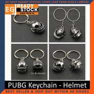 PUBG Keychain Playerunknowns Battlegrounds Backpack Armor Helmet Pan 98k Flare Gun Keyring Key Chain Ring Army
