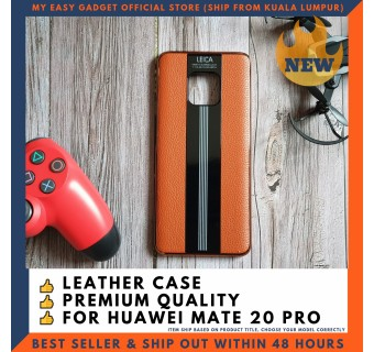 HUAWEI MATE 20 PRO LEATHER CASE PORSCHE DESIGN PREMIUM LUXURY BACK COVER FREE TEMPERED GLASS