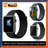 Nylon strap For Apple Watch band 44mm 40mm iWatch Series 5 4 band 42mm 38mm Sport loop belt Bracelet bands