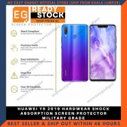 HUAWEI Y9 2019 HARDWEAR SHOCK ABSORPTION SCREEN PROTECTOR MILITARY GRADE