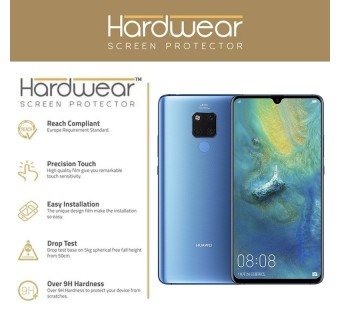 HUAWEI MATE 20 / MATE 20 PRO / MATE 20 X HARDWEAR SHOCK ABSORPTION SCREEN PROTECTOR MILITARY GRADE