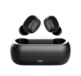 QCY T1 TWS 5.0 BLUETOOTH HEADPHONE 3D STEREO WIRELESS EARPHONE WITH DUAL MICROPHONE