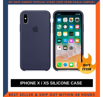 IPHONE X, XS CASE SOFT SILICONE SHOCKPROOF PROTECTION SOLID COLOR PHONE BAGS CLEARANCE