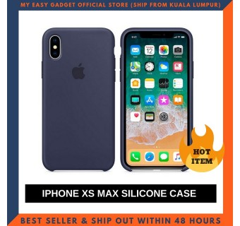 IPHONE XS MAX CASE SOFT SILICONE SHOCKPROOF PROTECTION SOLID COLOR PHONE BAGS CLEARANCE
