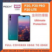 ROCK HUAWEI P20 P20 PRO P20 LITE UZIEN EXPLOSION-PROOF SCREEN PROTECTOR EDGE TO EDGE COVER