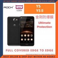 ROCK HUAWEI Y5 Y5 ll UZIEN EXPLOSION-PROOF SCREEN PROTECTOR EDGE TO EDGE COVER