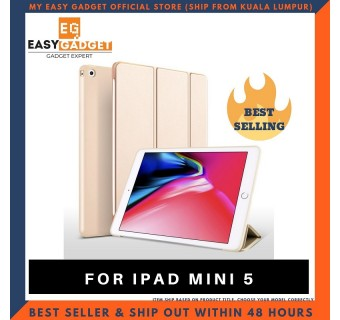 IPAD MINI 5 HIGH QUALITY SMART COVER SLIM FIT STAND CASE