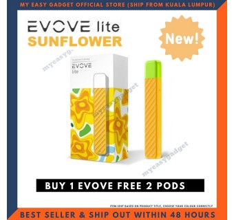 ORIGINAL EVOVE LITE E-CIGARETTE STARTER KIT (FREE 2 PODS) / REFILL POD CARTRIDGE