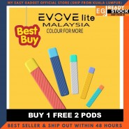 Evove Lite Vape E-cigarette Starter Kit Device & Refill Pod Cartridge Original Product Malaysia Seller