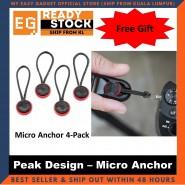 Peak Design Micro Anchor 4 Pcs In A Pack  - Original Camera Gear [ready Stock]