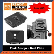 Peak Design Dual Plate - Original Camera Gear [ready Stock]