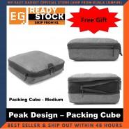 Peak Design Packing Cube Travel Bag Medium Size - Original Camera Gear [ready Stock]